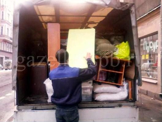 перевозка мебели с грузчиками недорого спб